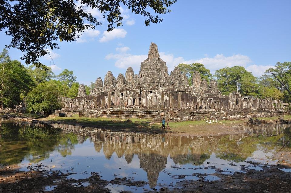 Cambodia, Siem Reap, Angkor Thom