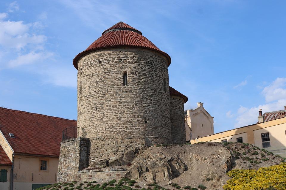 Znojmo, Czech Republic, Rotunda, Sights