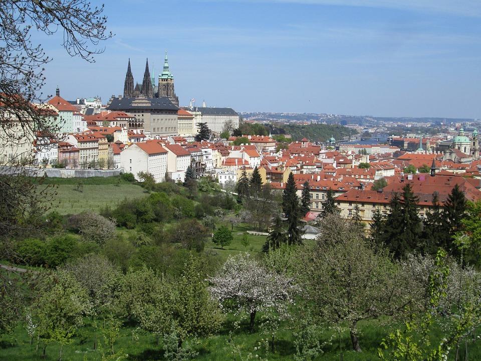 Prague, City, Sightseeing, Vista, Czech Republic