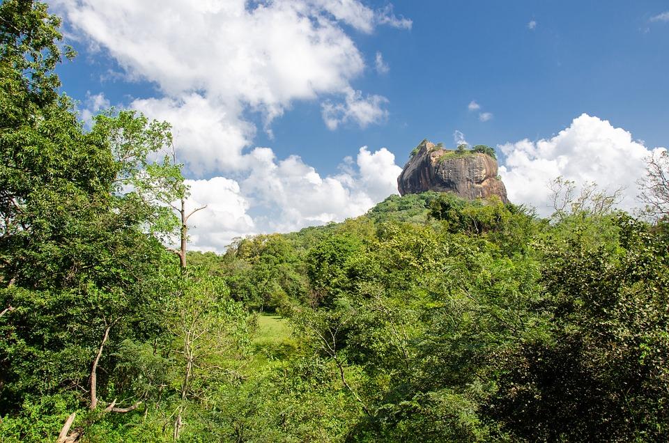 Lion Rock, Sigiriya, Culture, Landscape, Old, Rock