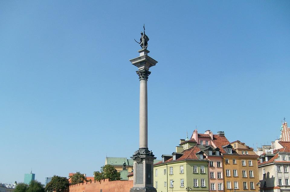 Warsaw, Sigismund's Column, Monument, Architecture