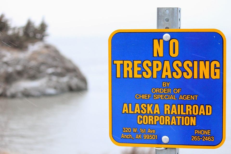 Sign, Message, Alert, Alaska