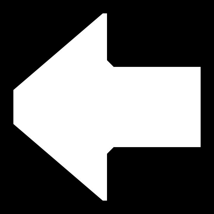 Arrow, Left, Back, Sign, Symbol, Icon