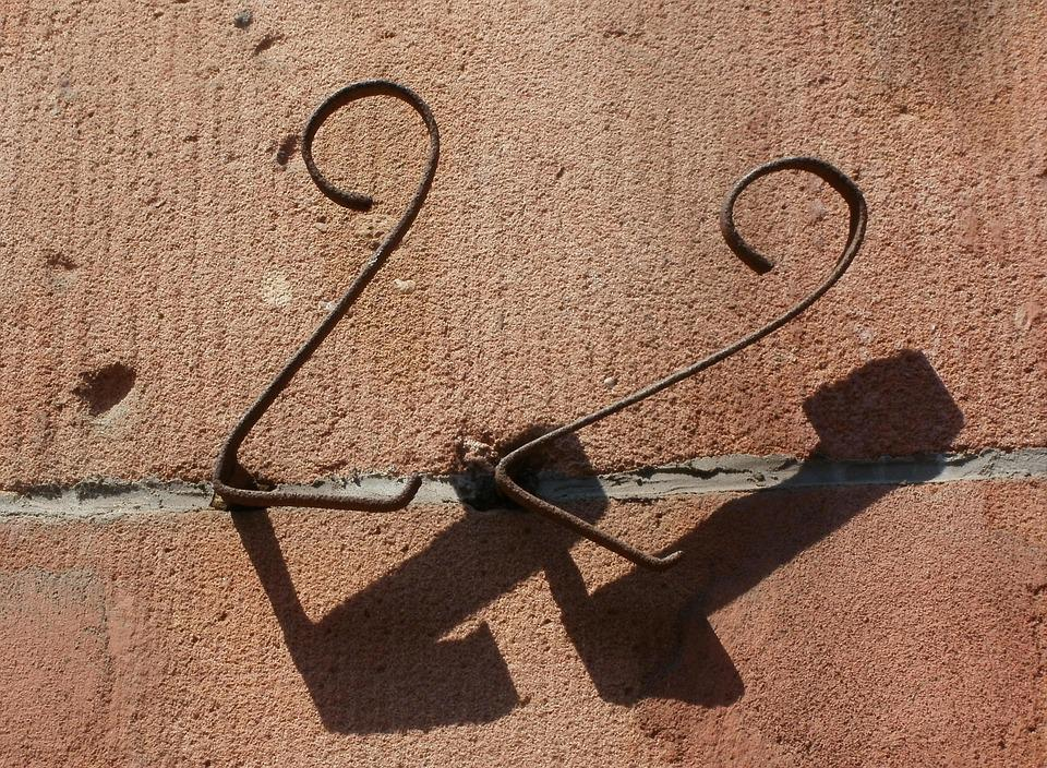 Number, Wall, Symbol, Sign, House, Font, Home