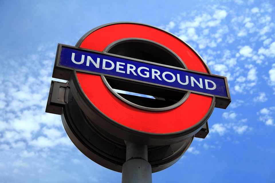 Capital, England, Famous, London, Metro, Sign, Subway
