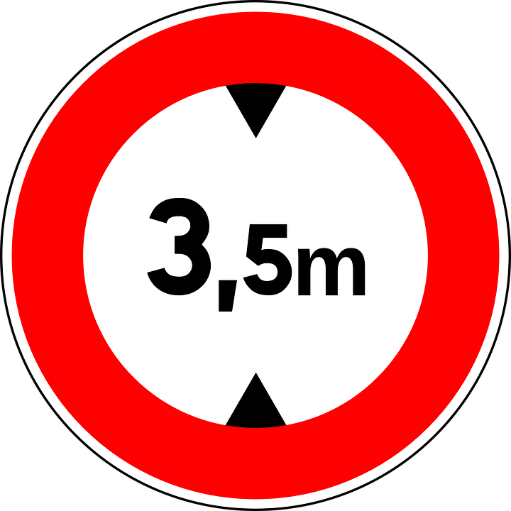 Height Limit, Sign, Road Sign, Roadsign, Traffic Sign