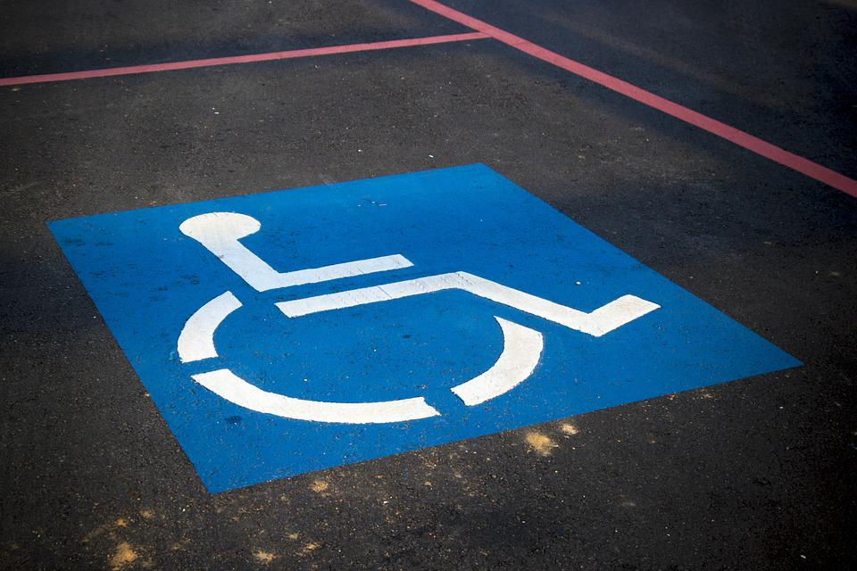 Handicap Parking, Sign, Disable, Parking, Symbol