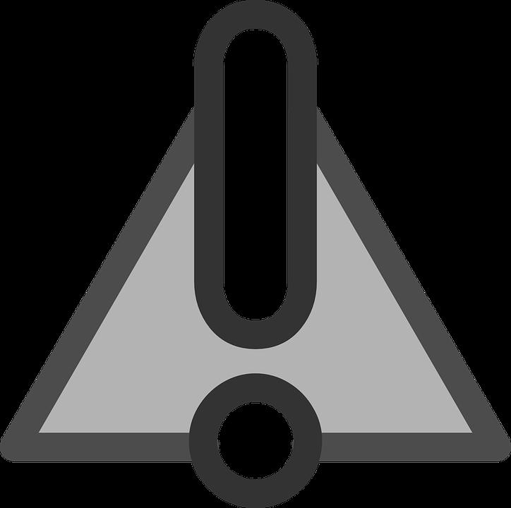 Warning, Symbol, Sign