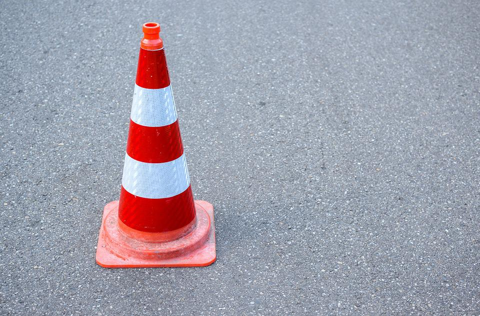 Safety, Cone, Road, Traffic, Construction, Danger, Sign