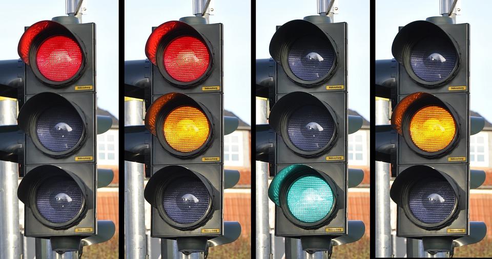 Traffic Light, Signal, Traffic, Street, Road, Sign