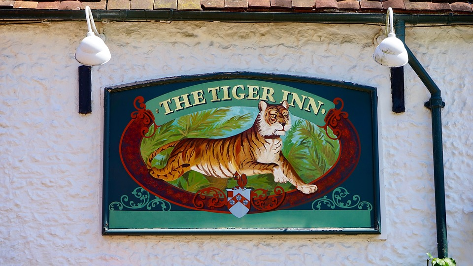 Pub, Sign, Bar, Drink, Beer, Old, Vintage, Emblem, Logo