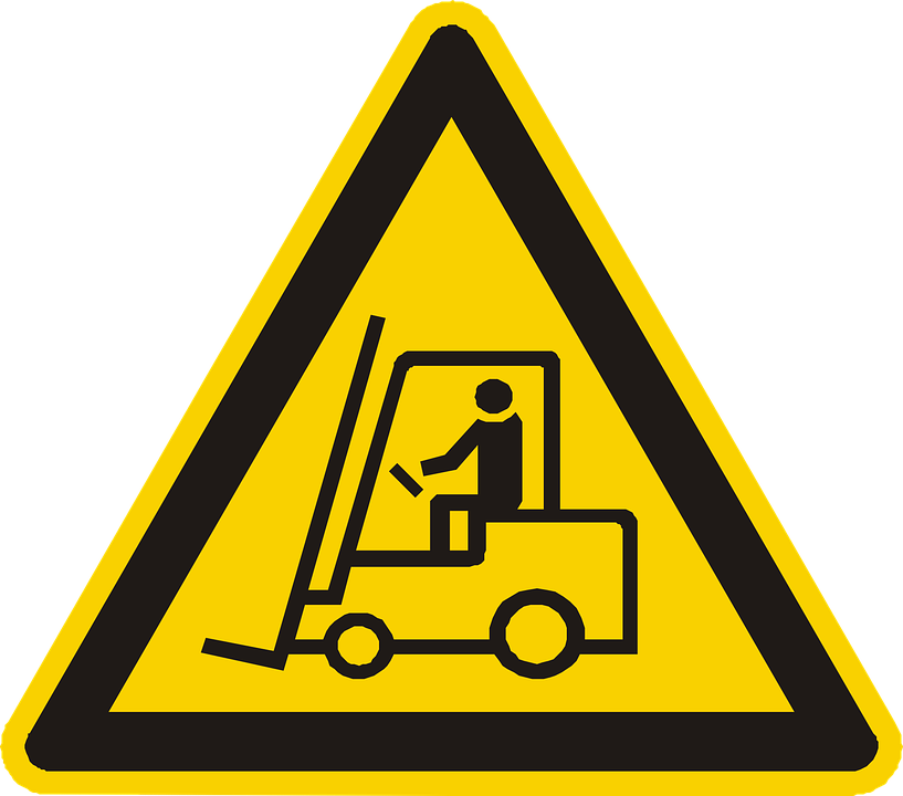 Vehicle Handling, Warning, Attention, Yellow, Sign