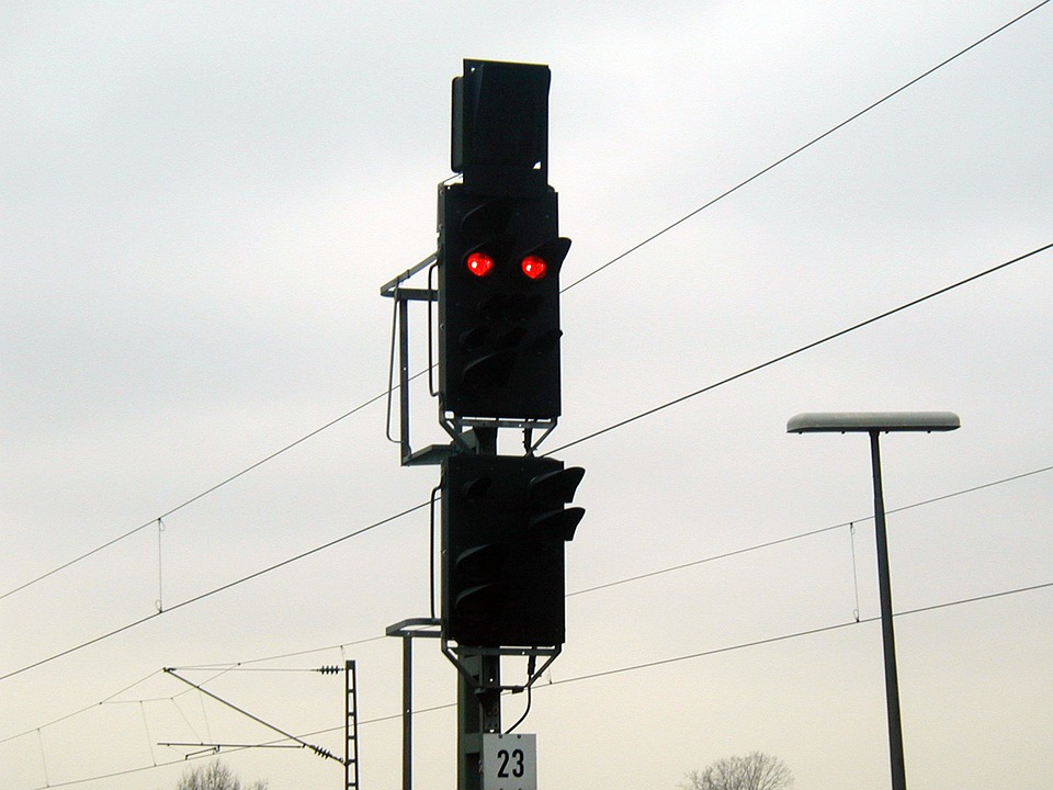 Signal Lamp, Beacon, Light Signal, Train