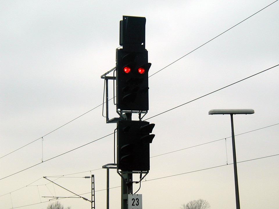 Signal Lamp, Beacon, Light Signal, Train