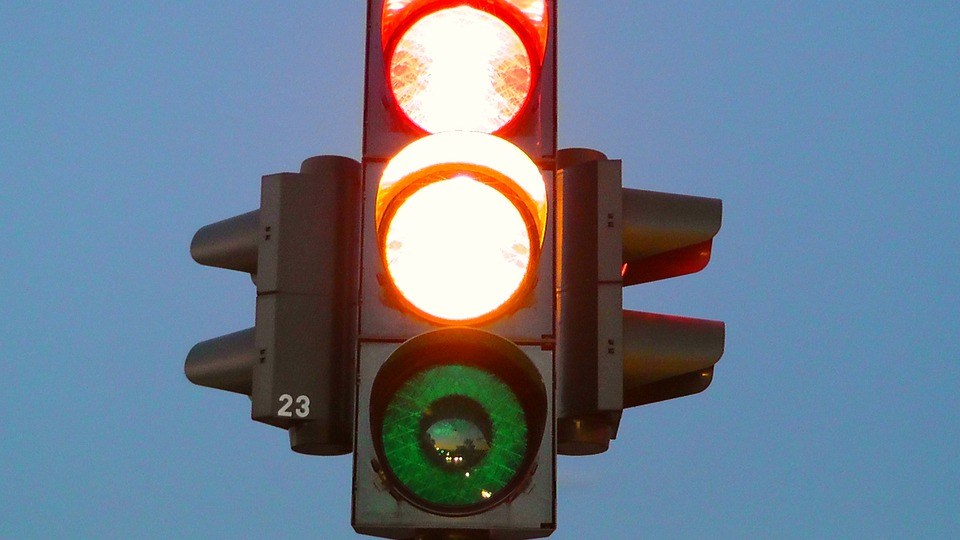 Traffic Lights, Road Traffic Light, Signal Lamp