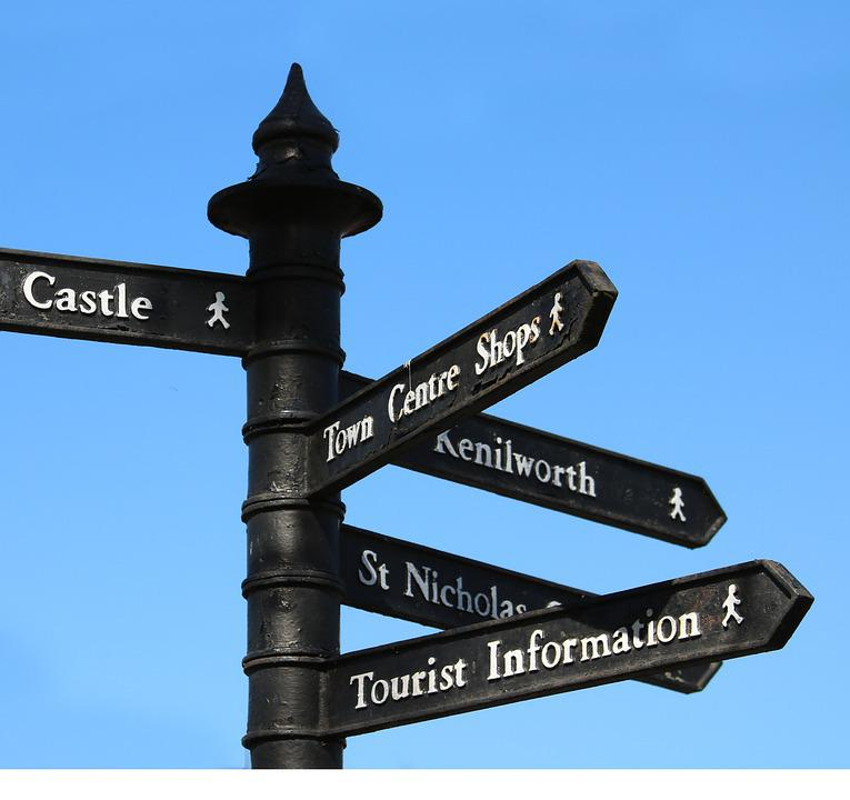 free photo signpost sky direction way post sign sign post max pixel