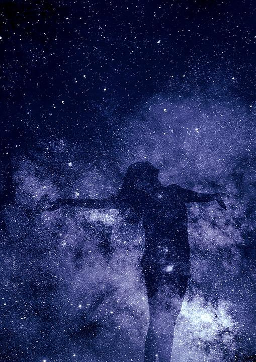 Universe, Creation, Spirituality, Silhouette, Be Human