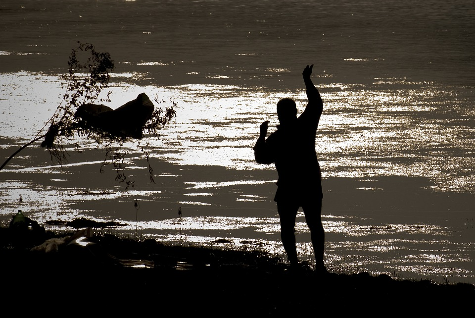 From Adana, Fisherman, Silhouette