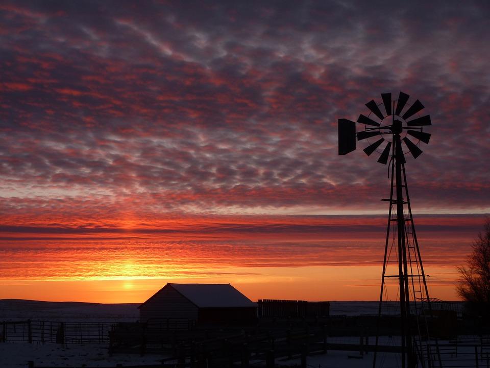 Sunset, Dusk, Evening, Sky, Silhouette