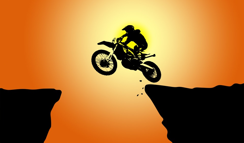 Silhouette, Sunset, Motorcycle, Wheel, Sol, Outdoors