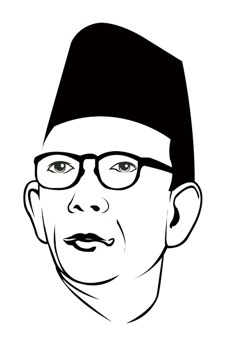 Silhouettes, Heroes, Education, Indonesia