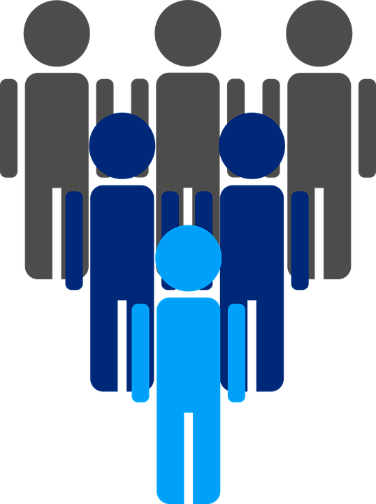 People, Group, Leader, Businessmen, Silhouettes, Team