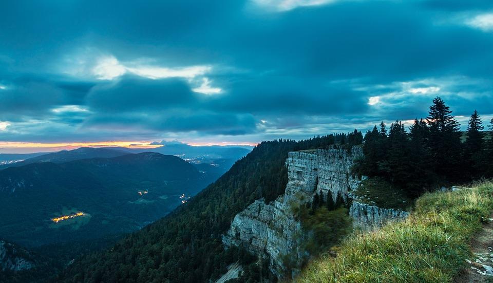 Silhouettes, Epic Sky, Switzerland