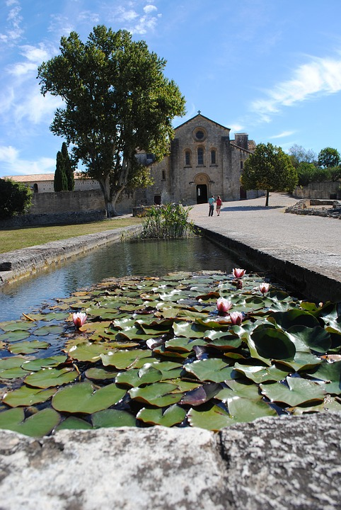 Monastery, Abbey, Silvacane, France, Romanesque, Church