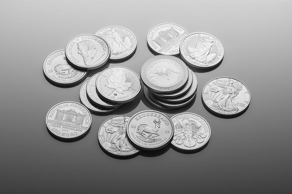 Silver, Bullion, Coins, Investment, Money, Numismatic