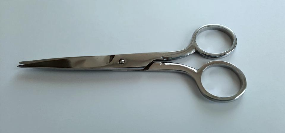 Scissors, Cut, Silver, Surgical, Metal, Snip, Haircut
