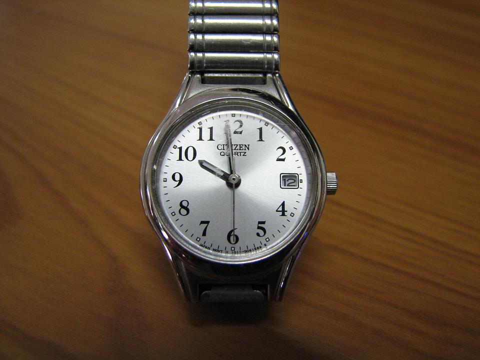 Wristwatch, Watch, Silver, Time