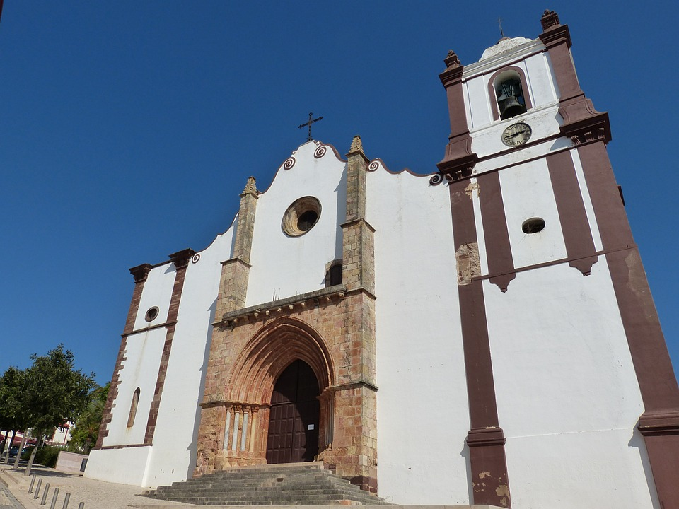 Baroque Church, Silves, Algarve, Portugal, Church
