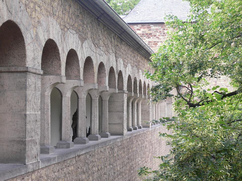 Simeon Pin Trier, Cloister, Monastery