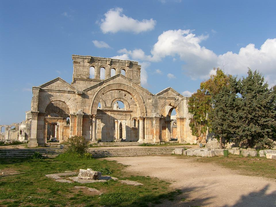 Syria, Simionkloster, Former Home, Simeon Stylites