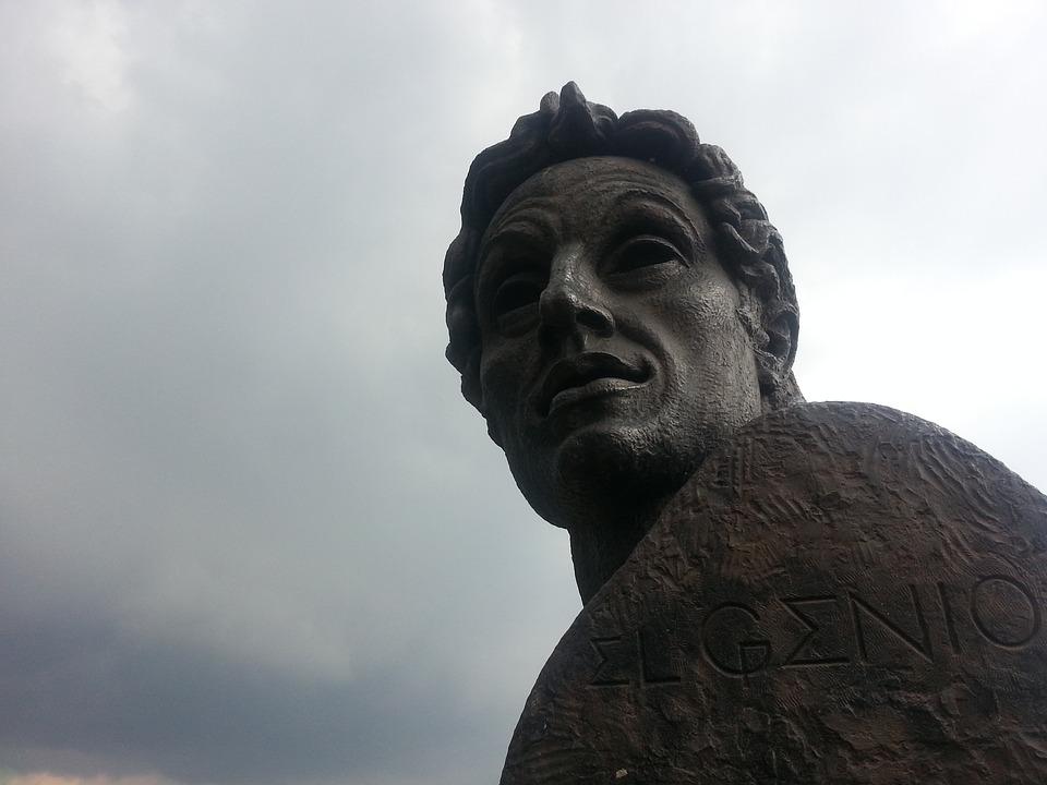 Bolivar, Head, Simon, Statue, Stonework, Stone