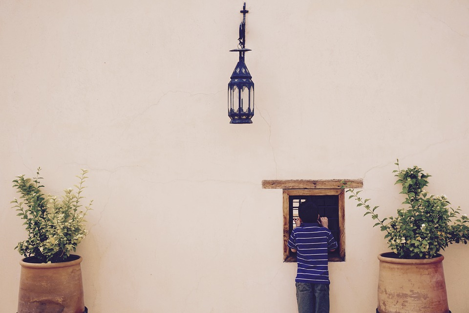 Fes, Morocco, Simple, Background, Looking Through
