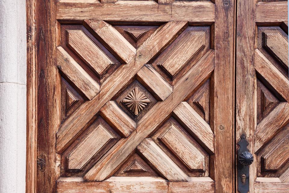 Door, Door Handle, Town Home, Input, Elegant, Simply