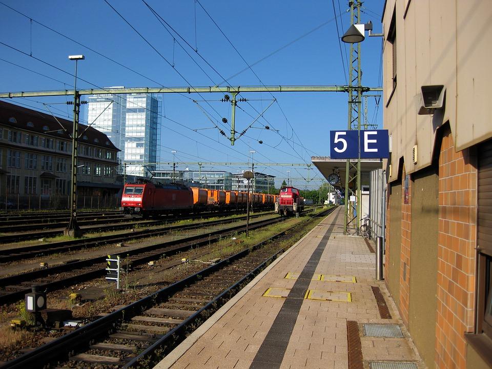 Sing, Railway Station, Track, Train