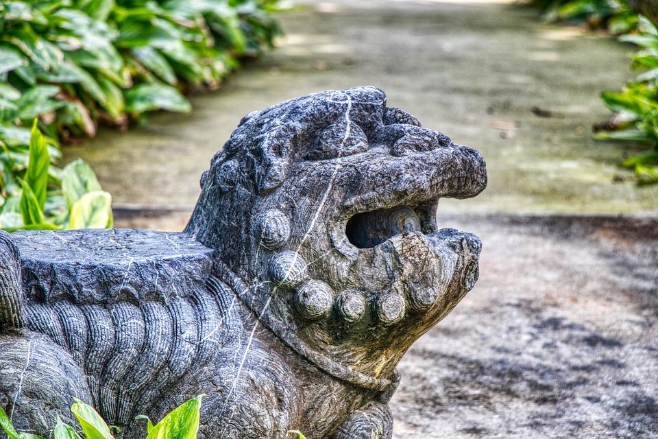 Lion, Singapore, Architecture, Asia, The Statue, Modern