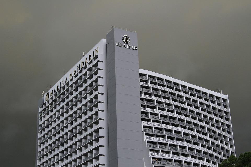 Singapore, Asia, Monsoon, Skyscraper, Metropolis