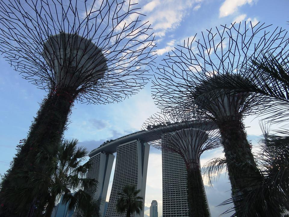 Marina Bay, Garden By The Bay, Singapore, Building