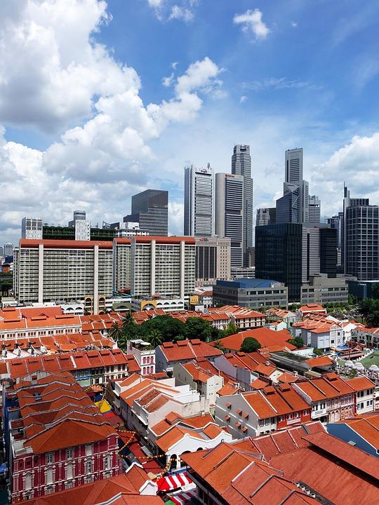 Singapore, Chinatown, Tourist Attraction, Building