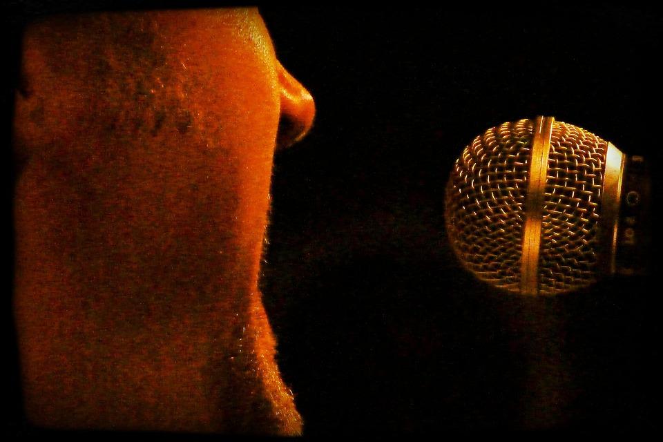 Singer, Man, Microphone, Musician, Artists, Blues