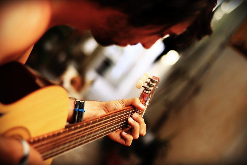 Guitar, Singing, Instrument, Play Guitar, Music