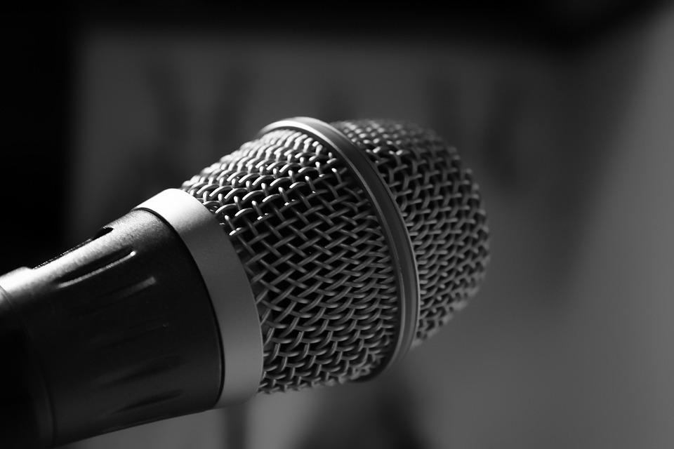 Microphone, Music, Singing, Art