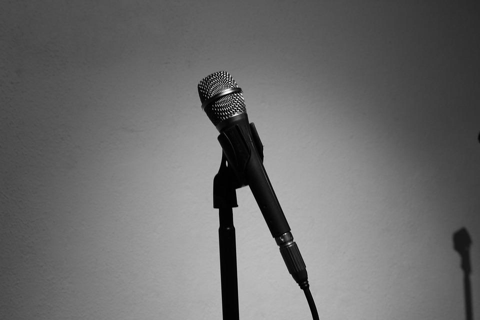Recording Studio, Microphone, Music, Singing, Art