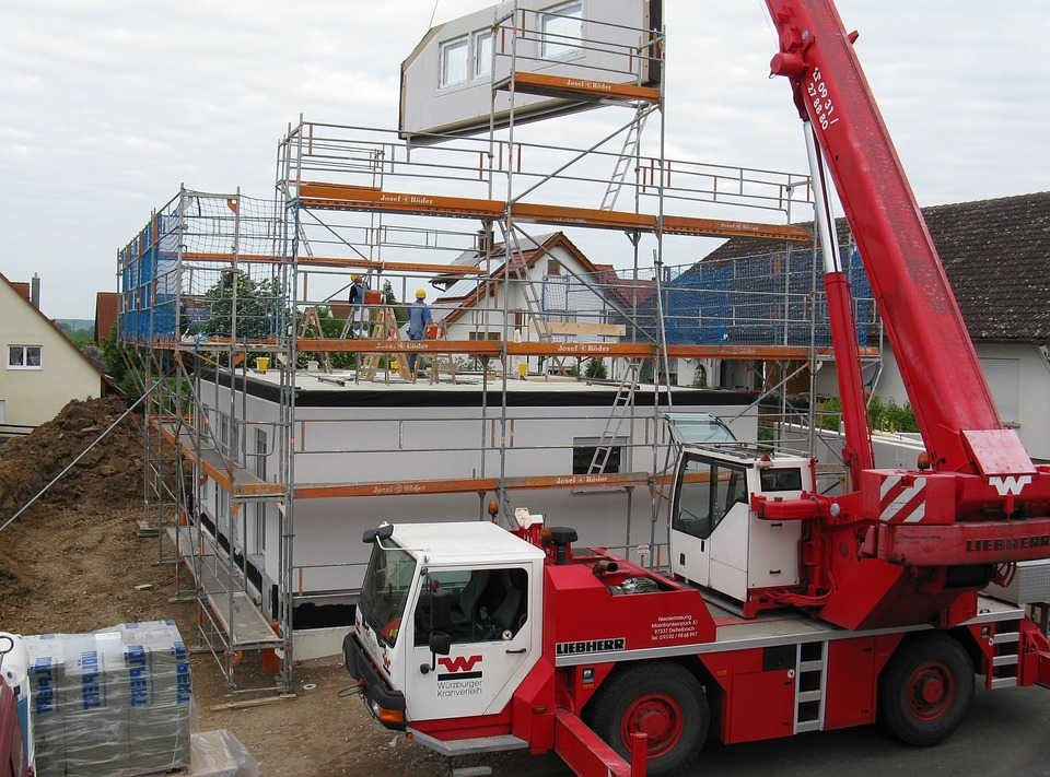 House Construction, New Building, Single Family Home