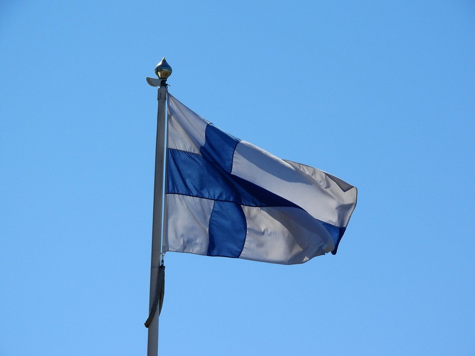 Finland, Finnish Flag, Siniristilippu, Blue Cross