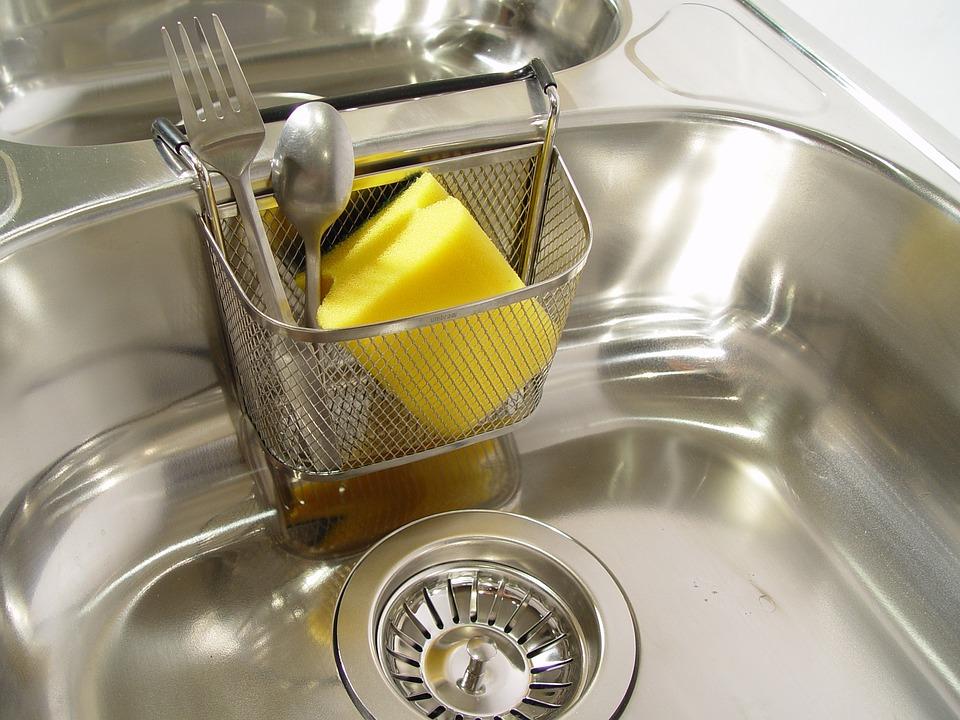 Sink, Scourer, Kitchen, Cookware, Bakeware