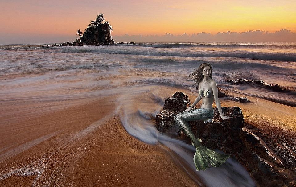 Mermaid, Siren, Sea Fantasy